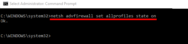 How to Disable Windows Firewall With Command Line | TechWiser