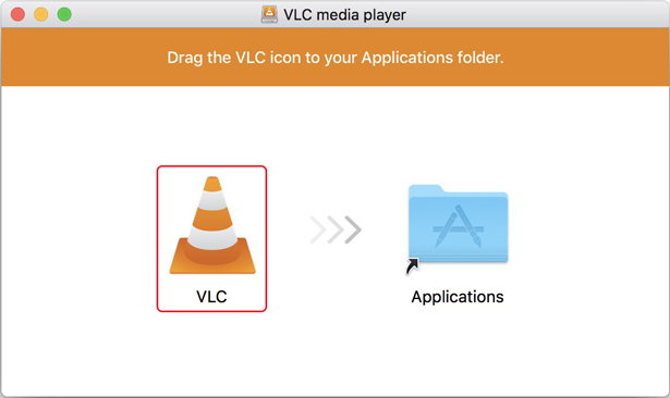 add vlc to applications folder