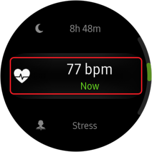 disable auto heart rate monitor- heart rate option