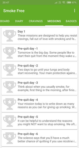 quit smoking apps 2