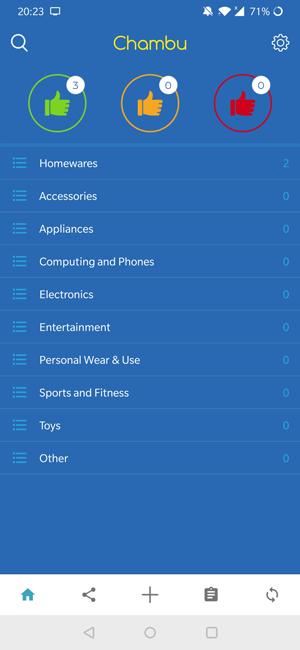 Warranty And Manual Organizer Apps- Chambu