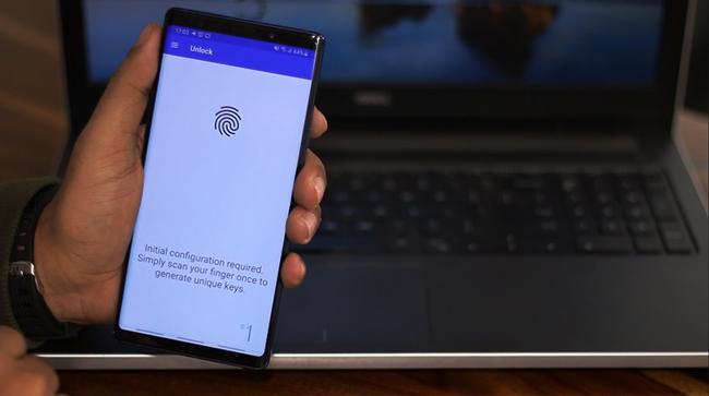 FingerPrint_Unlock - bridge the gap between Windows and Android