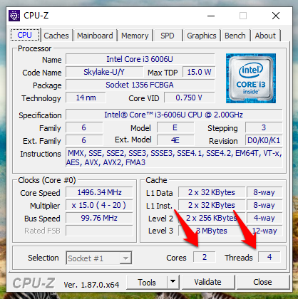 How Many Cores Does My CPU Have (2)