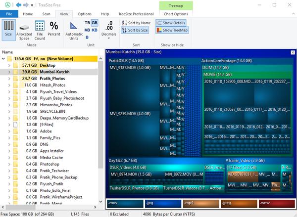 TreeSize_new - Disk Space Analyzer For Windows