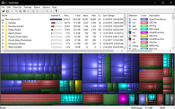 WinDirStatpng_new - Disk Space Analyzer For Windows