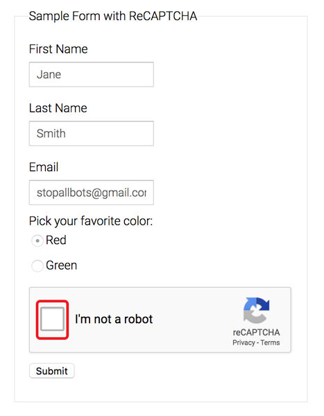how to bypass reCAPTCHA- I'm not a robot