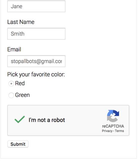 how to bypass reCAPTCHA- done