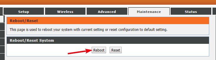 fix dns server not responding 04 - restart router