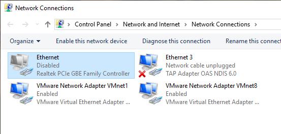 fix dns server not responding 09 - adapter disabled