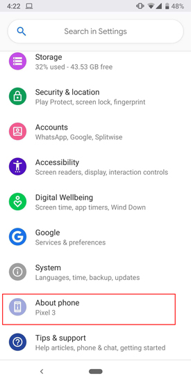 About_Phone_Android