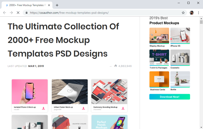 best mockup tools- CSS Author