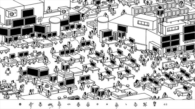 best apple tv games- hidden folks