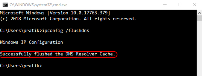 command-to-flush-IP-DNS-in-command-prompt