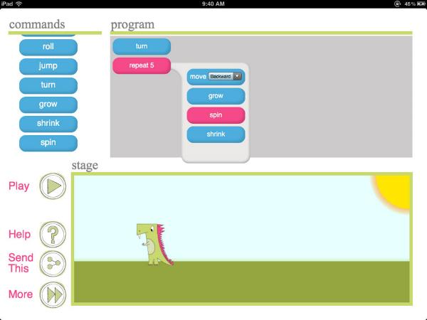 ipad gaming app for kids - 11 - Daisy the Dinosaur