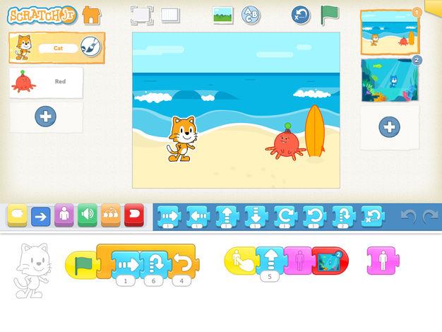 ipad gaming app for kids - 14 - ScratchJr