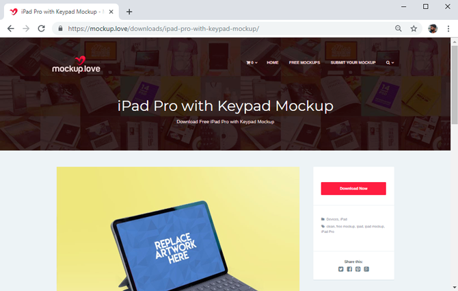 best mockup tools- Mockup love