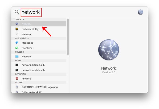 network_on_spotlight