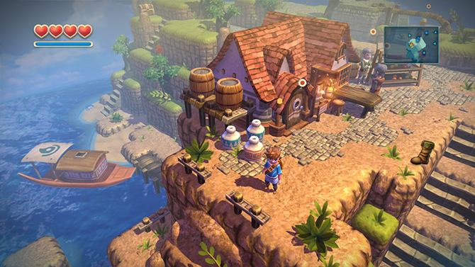 best apple tv games- Oceanhorn