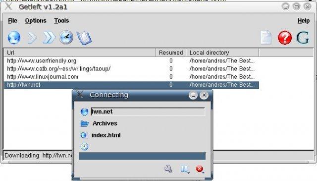 Download Entire Websites for Offline Access 4