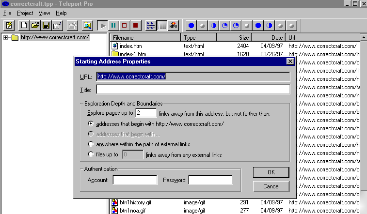 Download Entire Websites for Offline Access 8