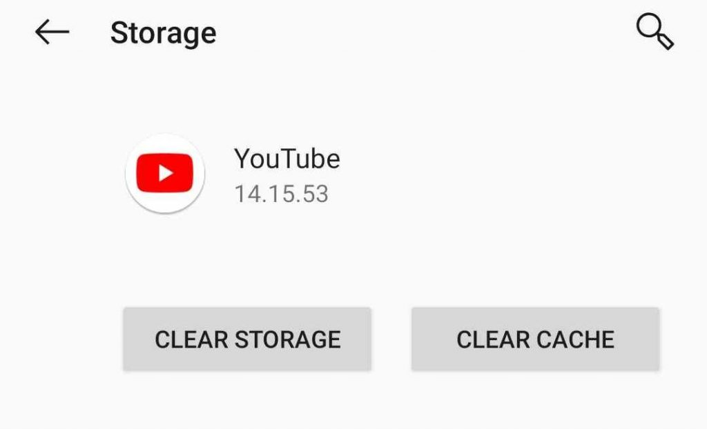 youtube cache