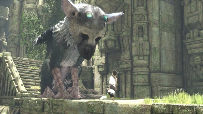 The last guardian- Giant Bird dog with his master