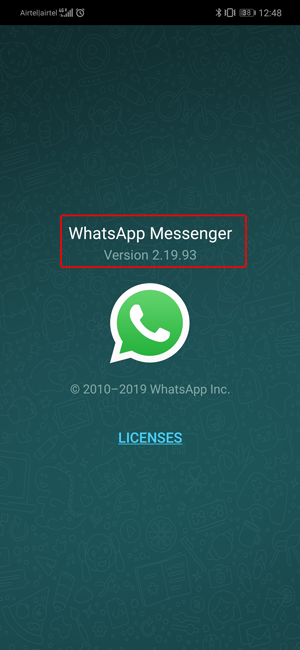 Stop People from Adding You to WhatsApp Groups- version