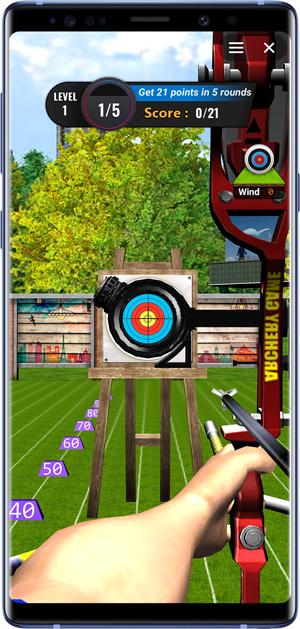 best facebook messenger games- archery