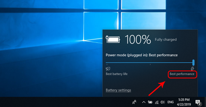 best-performance-battery-settings