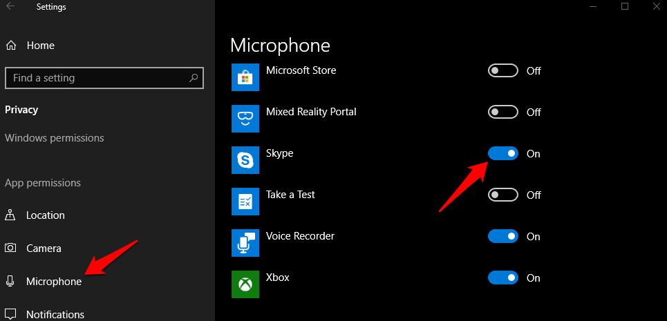 fix skype microphone not working issue 4