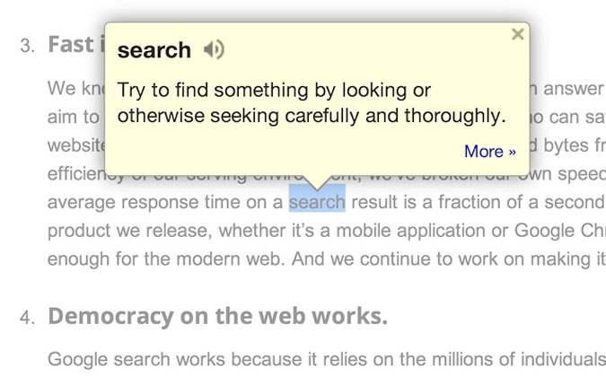 google-dictionary-extension