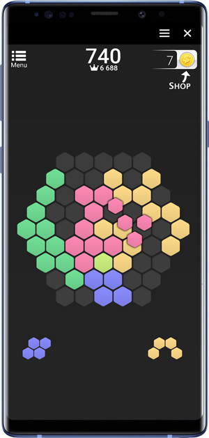 best facebook messenger games- hex frvr