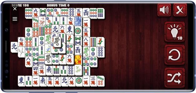 best facebook messenger games- mahjong
