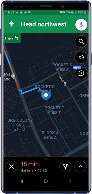 apps with dark mode- Maps