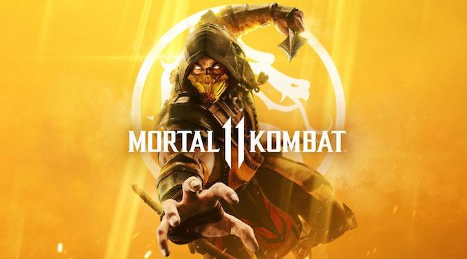 Mortal kombat 11- Blind guy tripping over while holding his umbrella