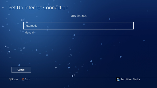 change dns on ps4- mtu