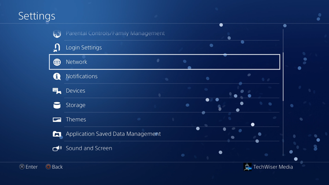 change dns on ps4- Network