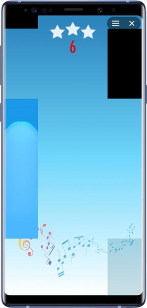 best facebook messenger games- rhythm piano tiles