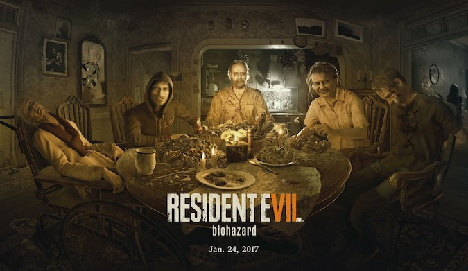 resident evil 7- Let's feast with the dead