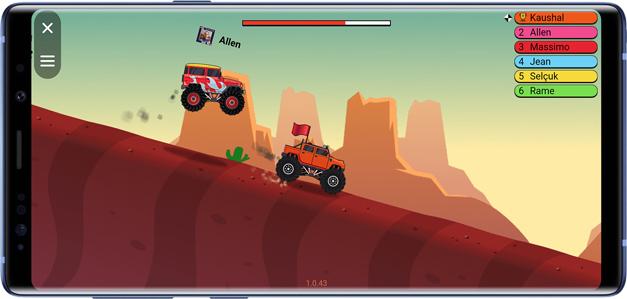 best facebook messenger games- road racing