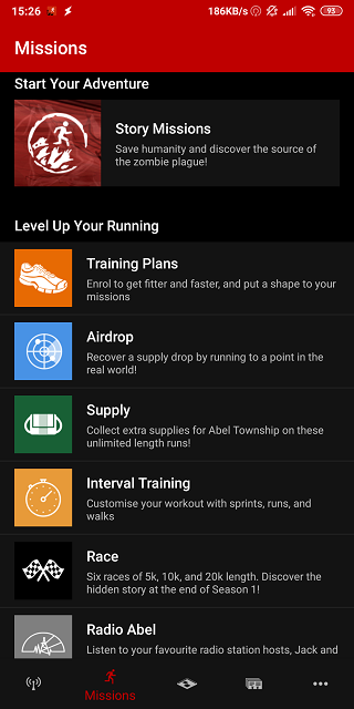 running apps for android 2