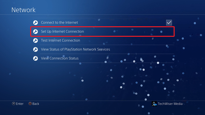 change dns on ps4- Set up internet