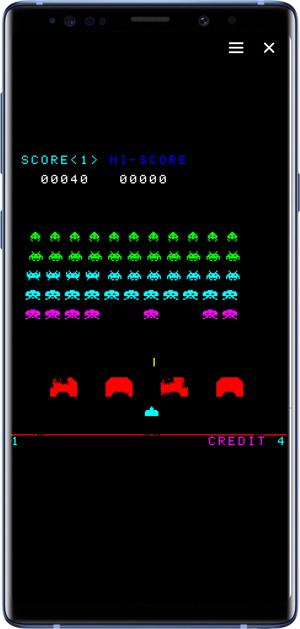 best facebook messenger games- space invaders
