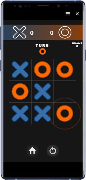 best facebook messenger games- tic tac toe