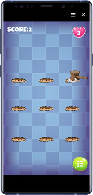 best facebook messenger games- whack the mole