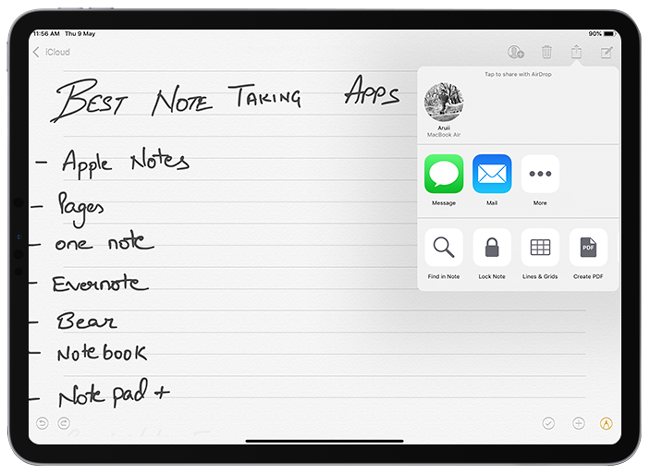 Apple Notes