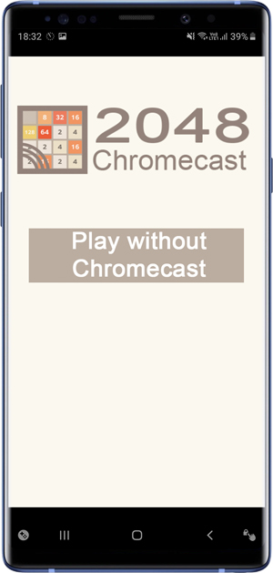 2048 alternative- chromecast
