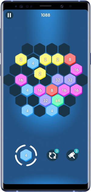 2048 alternative- hexa