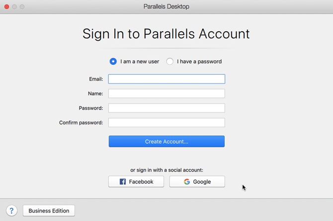 download Netflix on a mac- sign in to parallels