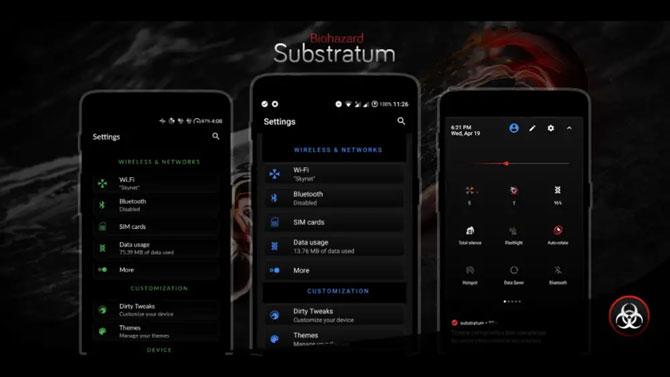 best substratum themes- biohazard